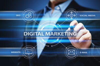 A Person Showing Digital Marketing Strategies